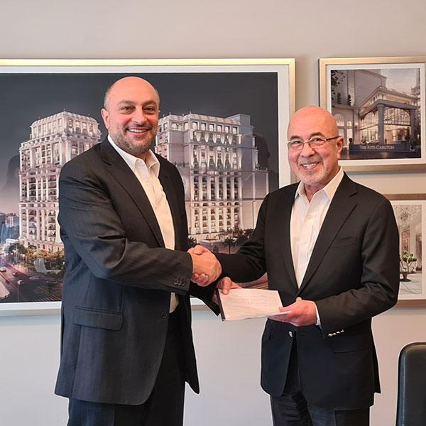 Al Eqbal Real Estate Development and Hotels Partners with Cozmo to Serve The Ritz-Carlton Residences Amman