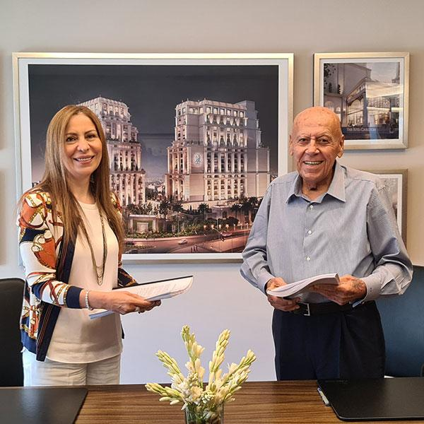 Al Eqbal Real Estate Development and Hotels Partners with Hickory Chair to Furnish the Lobbies of The Ritz-Carlton Hotel and Residences in Amman