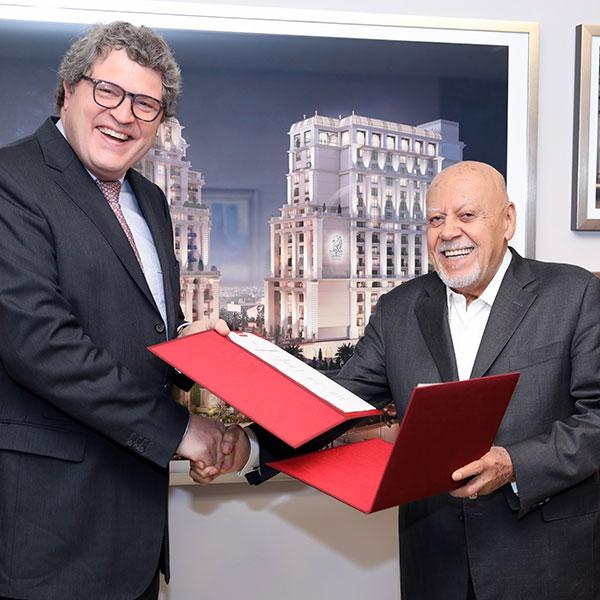 "Al Eqbal sings an agreement with ""Miele"" for the Ritz-Carlton Residences, Amman"