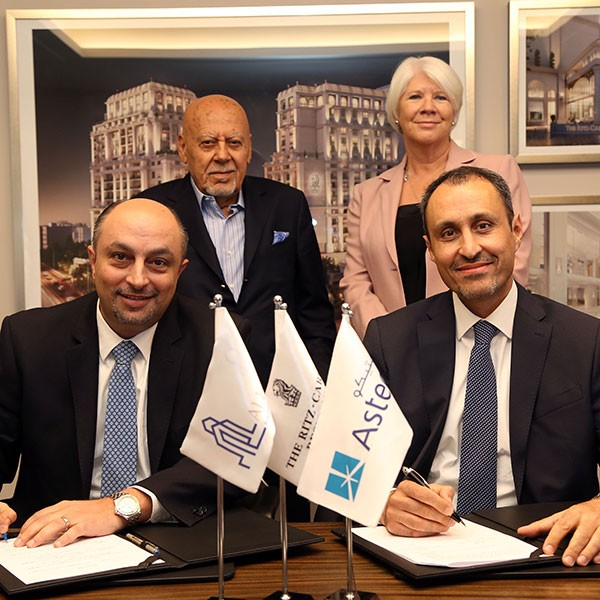 "Al Eqbal Real Estate Development Signs an Agreement with ""Asteco"" Property Management for managing Sales of The Ritz-Carlton Residences, in Amman"