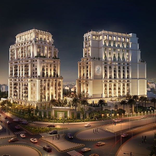 Al Eqbal has started the Excavation works on the Ritz-Carlton Hotel and Residence project in Amman