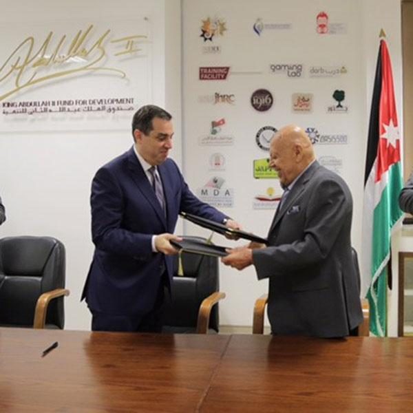 A Cooperation agreement between King Abdullah II Fund for Development and Al Eqbal Real Estate Development to support the Royal Academy of culinary arts in Jordan
