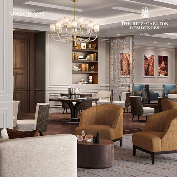 Where Convenience Meets Luxury. Welcome to The Ritz-Carlton Residences, Amman.