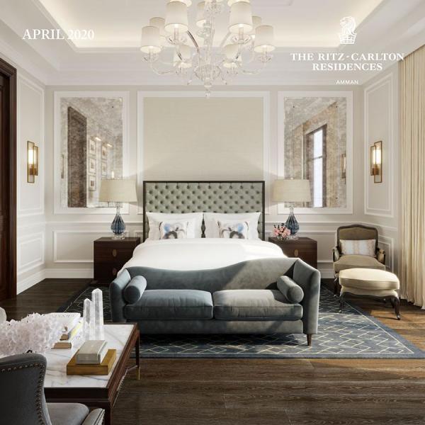 Inside The Ritz-Carlton Residences, Amman