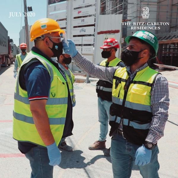 Resuming Construction Works of The Ritz-Carlton, Amman