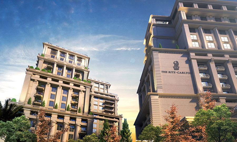 The two towers | The Ritz-Carlton Residences and Hotel in Amman